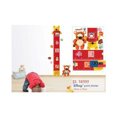 HYUNDAE Fixpix Point Sticker Tall Pooh DS 58393
