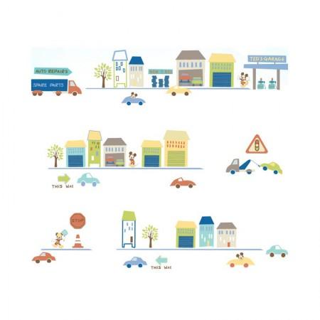 HYUNDAE Fixpix Wallpaper Sticker Dinding DG 11913 50