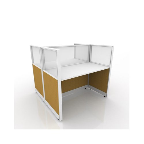 ENDURO+ 2 Staff Workstation Inovo Half Glass IN02G