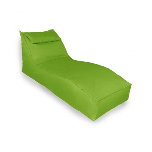 Bean Bag - S Lounger W/ Pillow Hijau