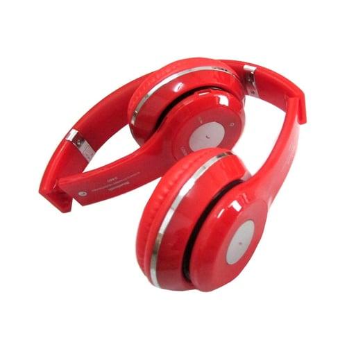 MEDIATECH Bluetooth Headphone Stereo S460 Merah