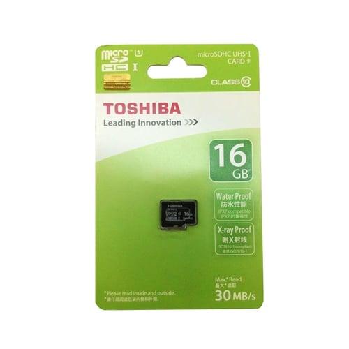TOSHIBA Micro SDHC 16 GB Class 10