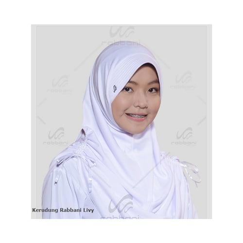 RABBANI Livy Kerudung Jilbab Sekolah Original Size S