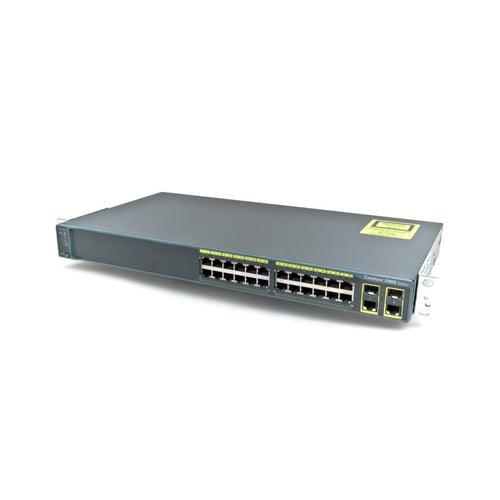 Cisco Switch Catalyst 24 port LAN dan 2 port SFP WS-C2960PC-L