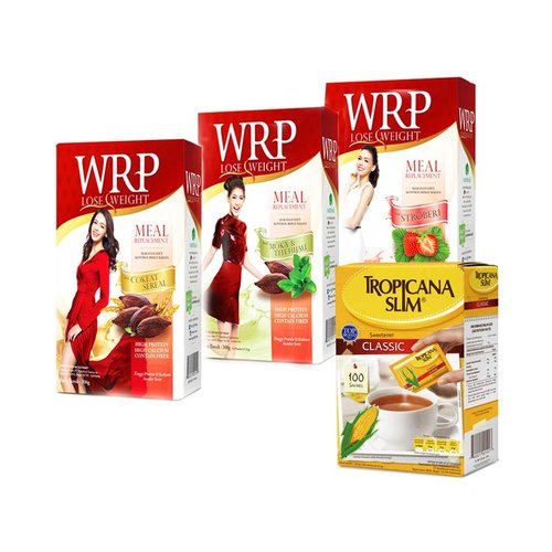 WRP Meal Replacement All Var 300gr plus Sweetenes Classic