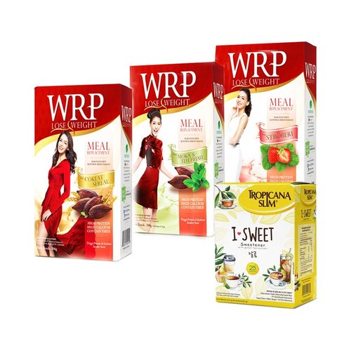 WRP Lose Weight Meal Replacement 300gr All Var Plus I Sweet