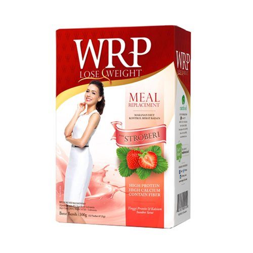 WRP Lose Weight Meal Replacement Strawberry 300gr
