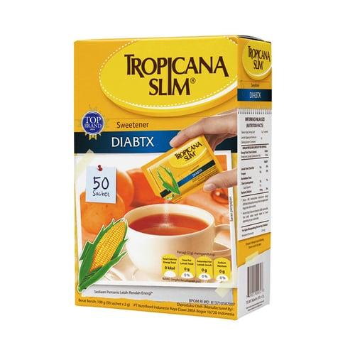 TROPICANA SLIM Sweetener Diabtx with cromium 100gr Isi 50ct