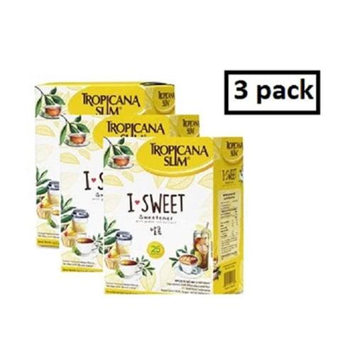 TROPICANA SLIM I Sweet Package Isi 25 Sachet 3D