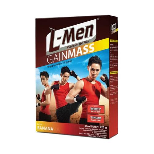L-MEN GainMass Whey Protein Banana 2pcs 225gr