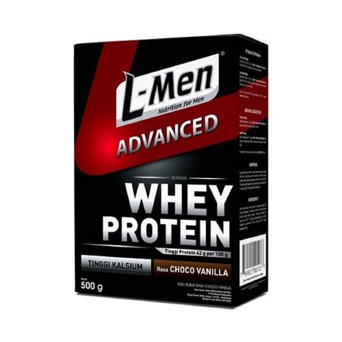 L-MEN Advanced Whey Protein Choco Vanilla 500gr