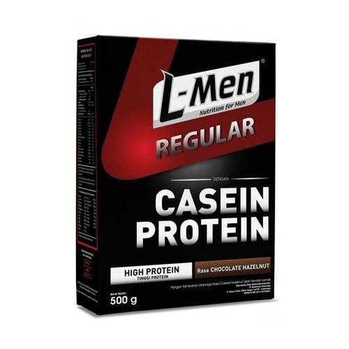 L-MEN Regular Casein Protein Chocolate Hazelnut 500gr