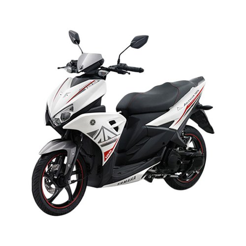 YAMAHA Aerox 155 VVA Sepeda Motor Black
