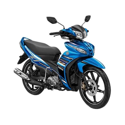 YAMAHA Jupiter Z1 FI CW Sepeda Motor Blue Racing Hero