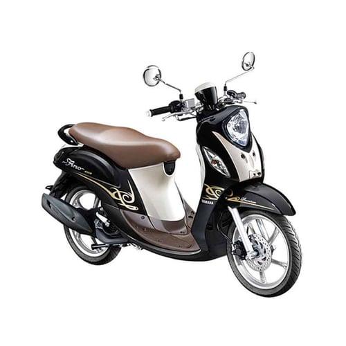 YAMAHA New Fino 125 Premium FI Sepeda Motor Choco Caramel