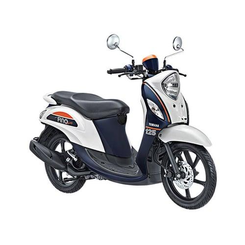 YAMAHA New Fino 125 Sporty Sepeda Motor Jump White