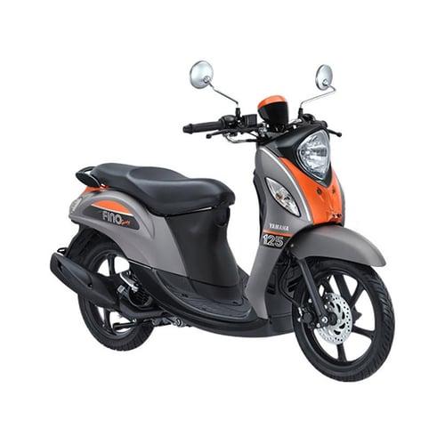 YAMAHA New Fino 125 Sporty Sepeda Motor Pump Grey