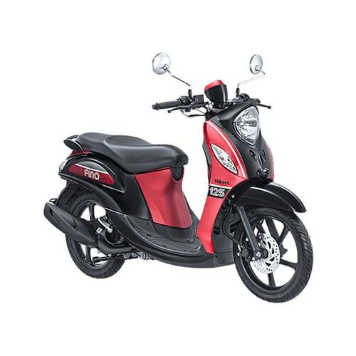 YAMAHA New Fino 125 Sporty Sepeda Motor Sprint Red