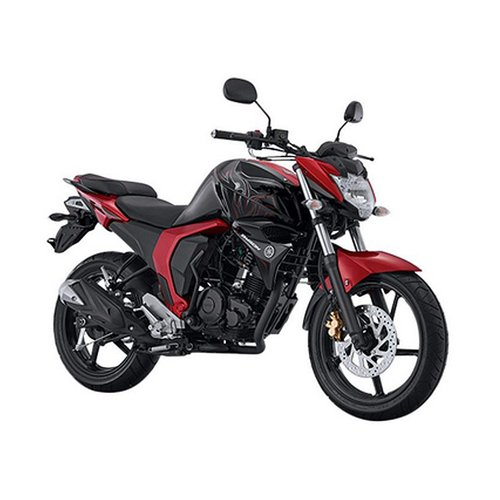 YAMAHA All New Byson FI Sepeda Motor Red Combat