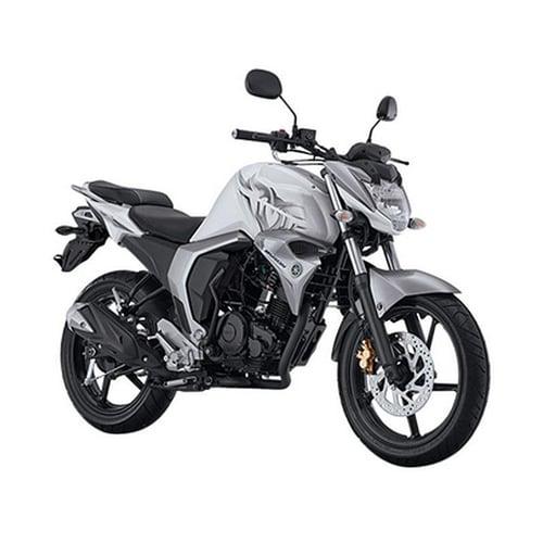 YAMAHA All New Byson FI Sepeda Motor Silver Bold