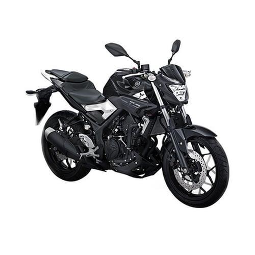 YAMAHA MT 25 Sepeda Motor Black Strike