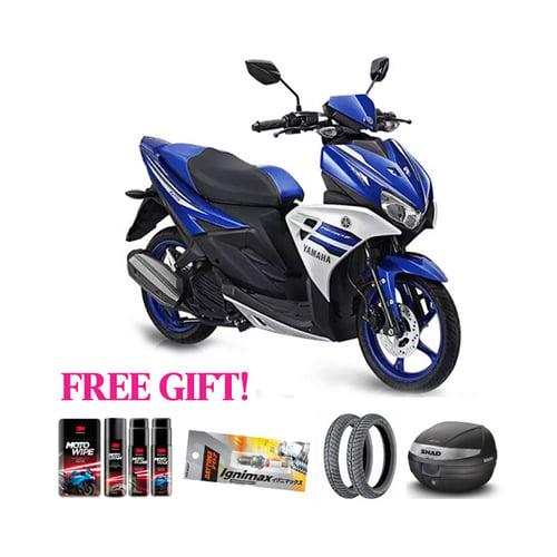 YAMAHA Motor Aerox + Free Gift Khusus Area Jawa Barat