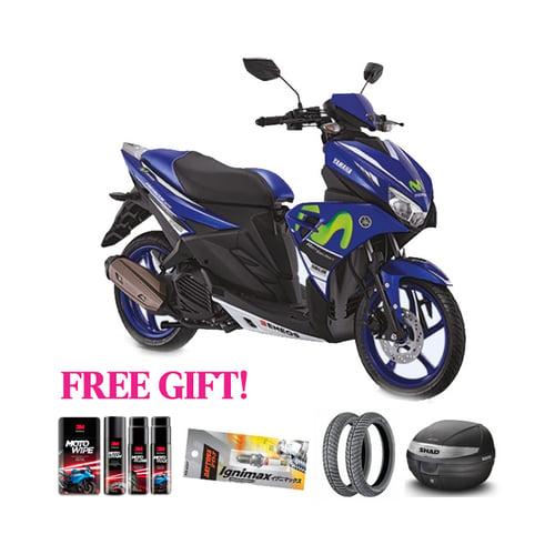 YAMAHA Motor Aerox GP + Free Gift Khusus Area Jawa Barat
