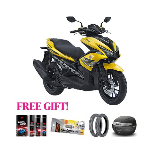 YAMAHA Motor New Aerox + Free Gift Khusus Area Jawa Barat