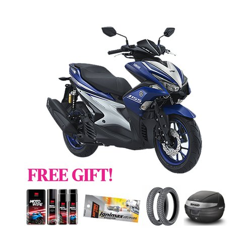 YAMAHA Motor New Aerox-R Version + Free Gift Khusus Area Jawa Barat