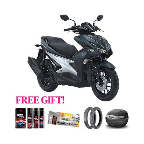 YAMAHA Motor New Aerox-S Version + Free Gift Khusus Area Jawa Barat