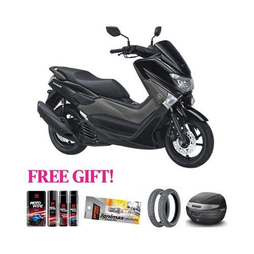YAMAHA Motor N-Max ABS + Free Gift Khusus Area Jawa Barat