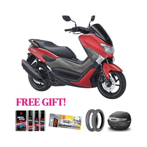 YAMAHA Motor N-Max Non ABS + Free Gift Khusus Area Jawa Barat