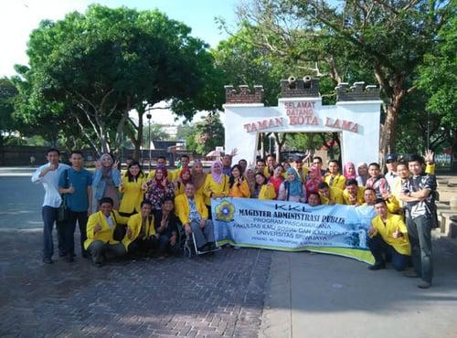 Jelajah Tour 5D4N Universitas Sriwijaya Palembang