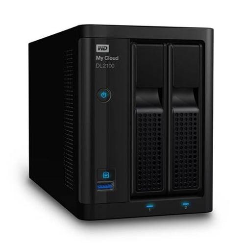 Western Digital WD My Cloud DL2100  0TB WDBBAZ0000NBK-SESN