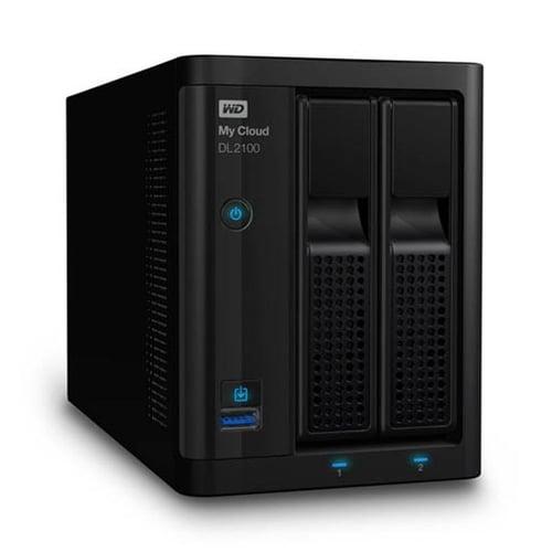 Western Digital WD My Cloud DL2100  8TB WDBBAZ0080JBK-SESN