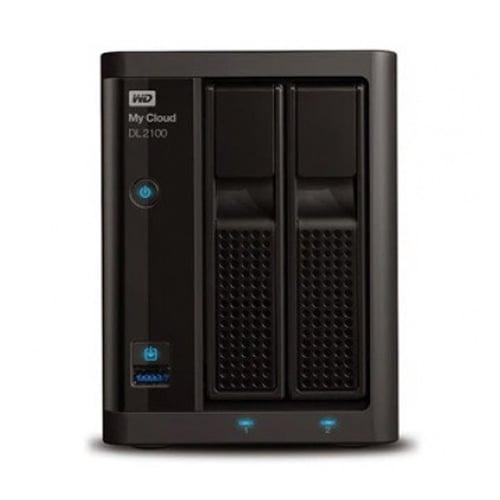 Western Digital WD My Cloud EX2100  0TB WDBWAZ0000NBK-SESN