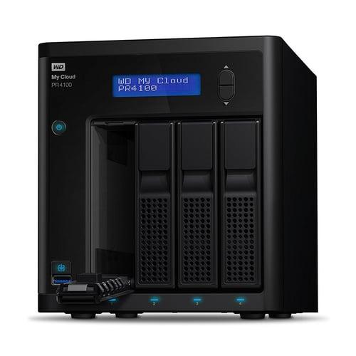 Western Digital WD My Cloud PR4100 0TB  WDBNFA0000NBK-SESN