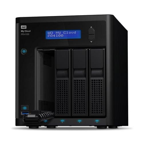 Western Digital WD My Cloud PR4100 16TB WDBNFA0160KBK-SESN