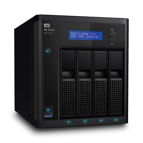 Western Digital WD My Cloud PR4100 32TB WDBNFA0320KBK-SESN