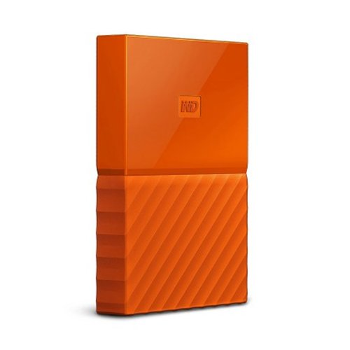 Western Digital WD My Passport 1TB  WDBYNN0010BOR-WESN - Orange