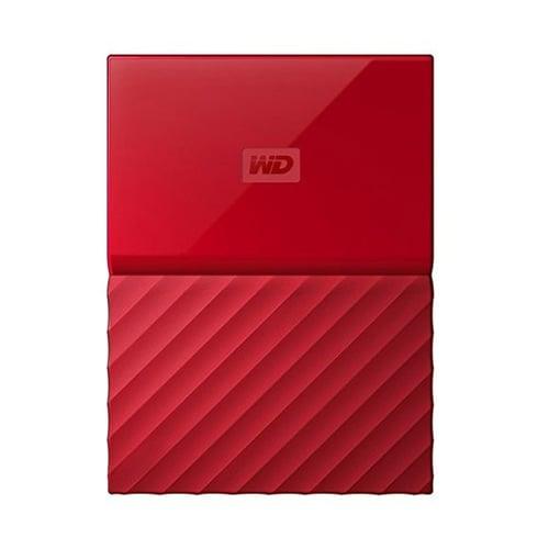 Western Digital WD My Passport 1TB  WDBYNN0010BRD-WESN - Merah