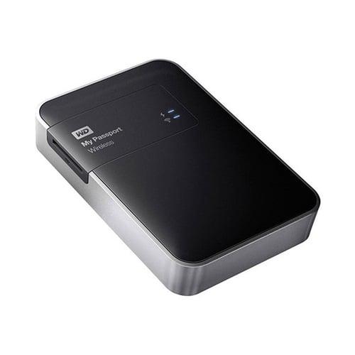 Western Digital WD My Passport Wireless Hard Disk Eksternal  1TB WDBK8Z0010BBK-PESN