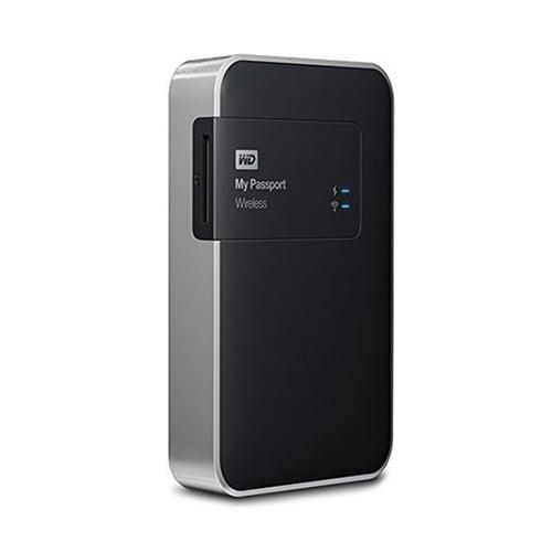 Western Digital WD My Passport Wireless Hard Disk Eksternal  2TB WDBDAF0020BBK-PESN