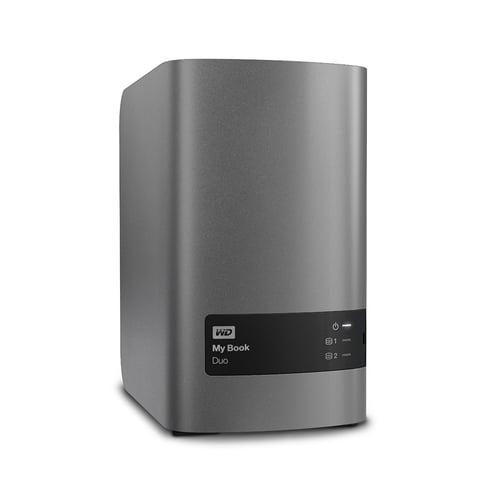 Western Digital WD My Book Duo Desktop Hard Drive Eksternal RAID   6TB WDBLWE0060JCH-SESN