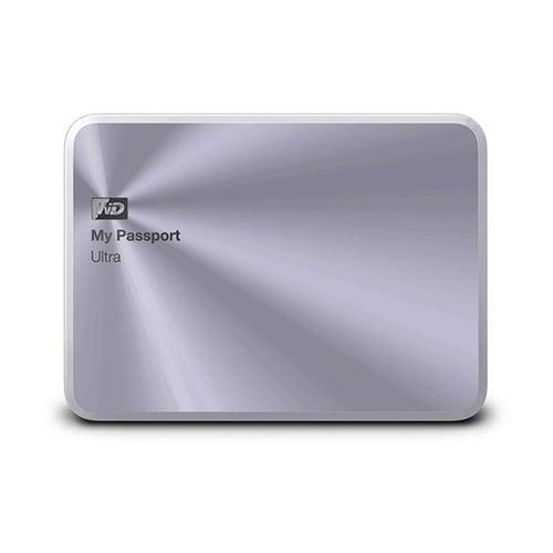 Western Digital WD My Passport Ultra Metal Edition Hard Disk Eksternal 2TB WDBEZW0020BSL-PESN - Silver