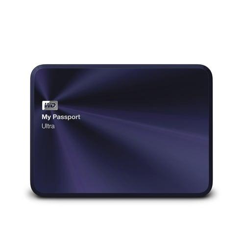 Western Digital WD My Passport Ultra Metal Edition Hard Disk Eksternal 3TB  WDBEZW0030BBA-PESN - Biru