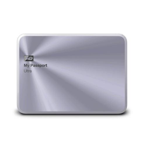 Western Digital WD My Passport Ultra Metal Edition Hard Disk Eksternal 3TB  WDBEZW0030BSL-PESN - Silver