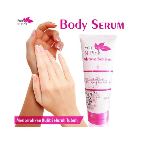 FAIR N PINK Whitening Body Serum Original 160 ml