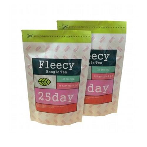 FLEECY Bangle Tea Slimming Tea Teh Pelangsing Isi 25 Sachet