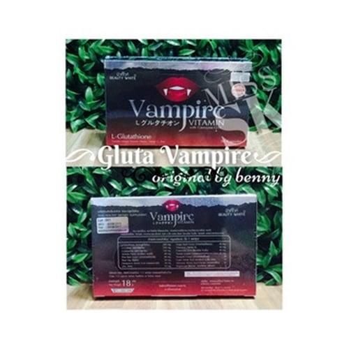 GLUTA Vampire Original Vampire Vitamin 1Box Isi 30 Kapsul